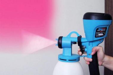 Hướng dẫn sử dụng sơn chịu nhiệt BKV theo phương pháp phun