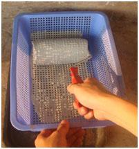 Hướng dẫn sử dụng sơn chịu nhiệt BKV theo phương pháp lăn